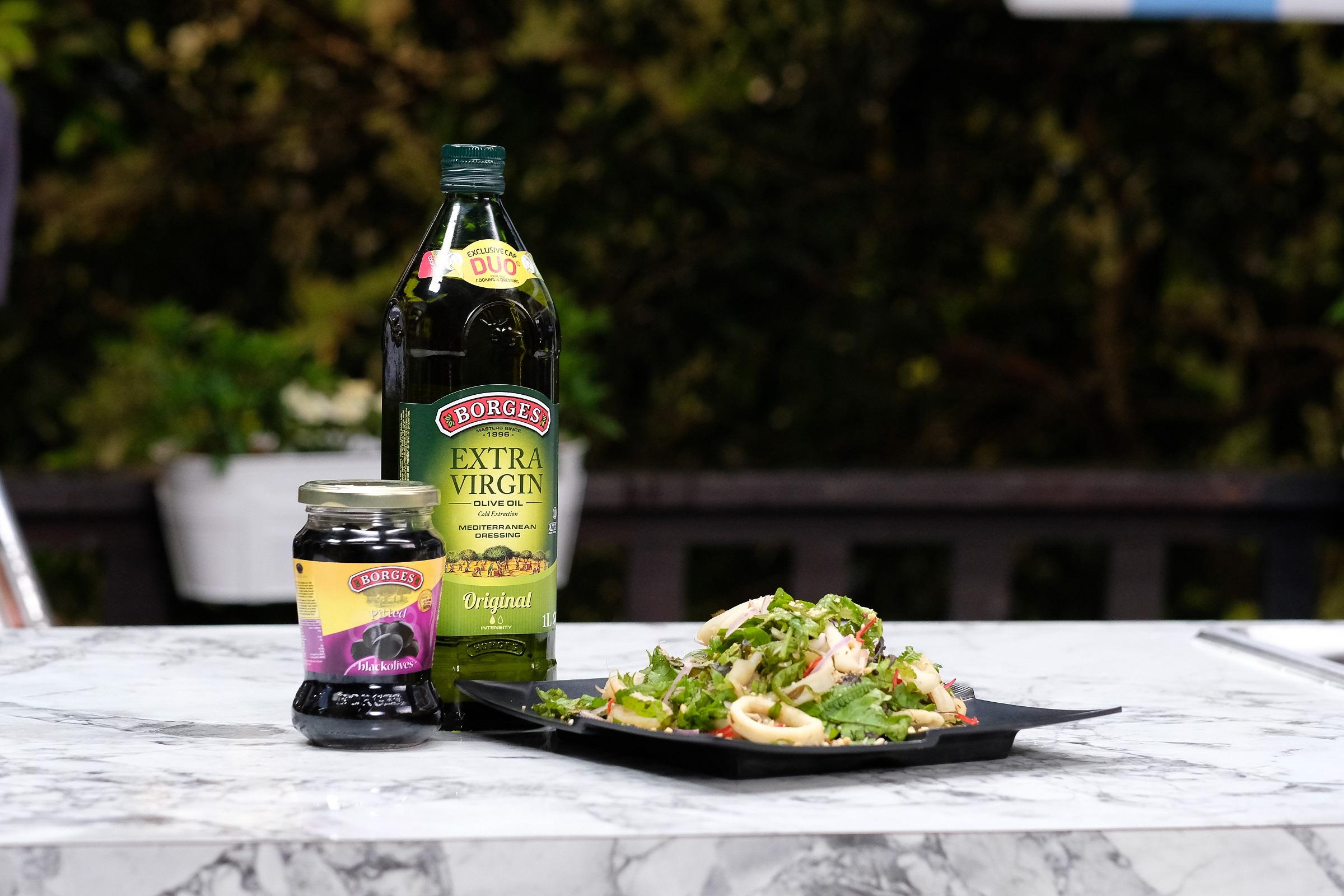 Thai Inspired Squid Fern Salad