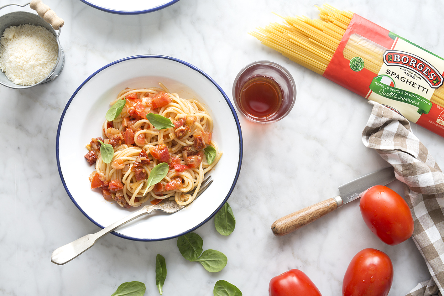 Spaghetti all'Arrabiata