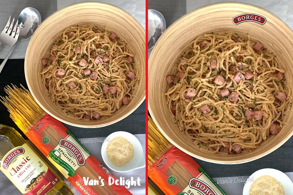 Smoked Ham Spaghetti
