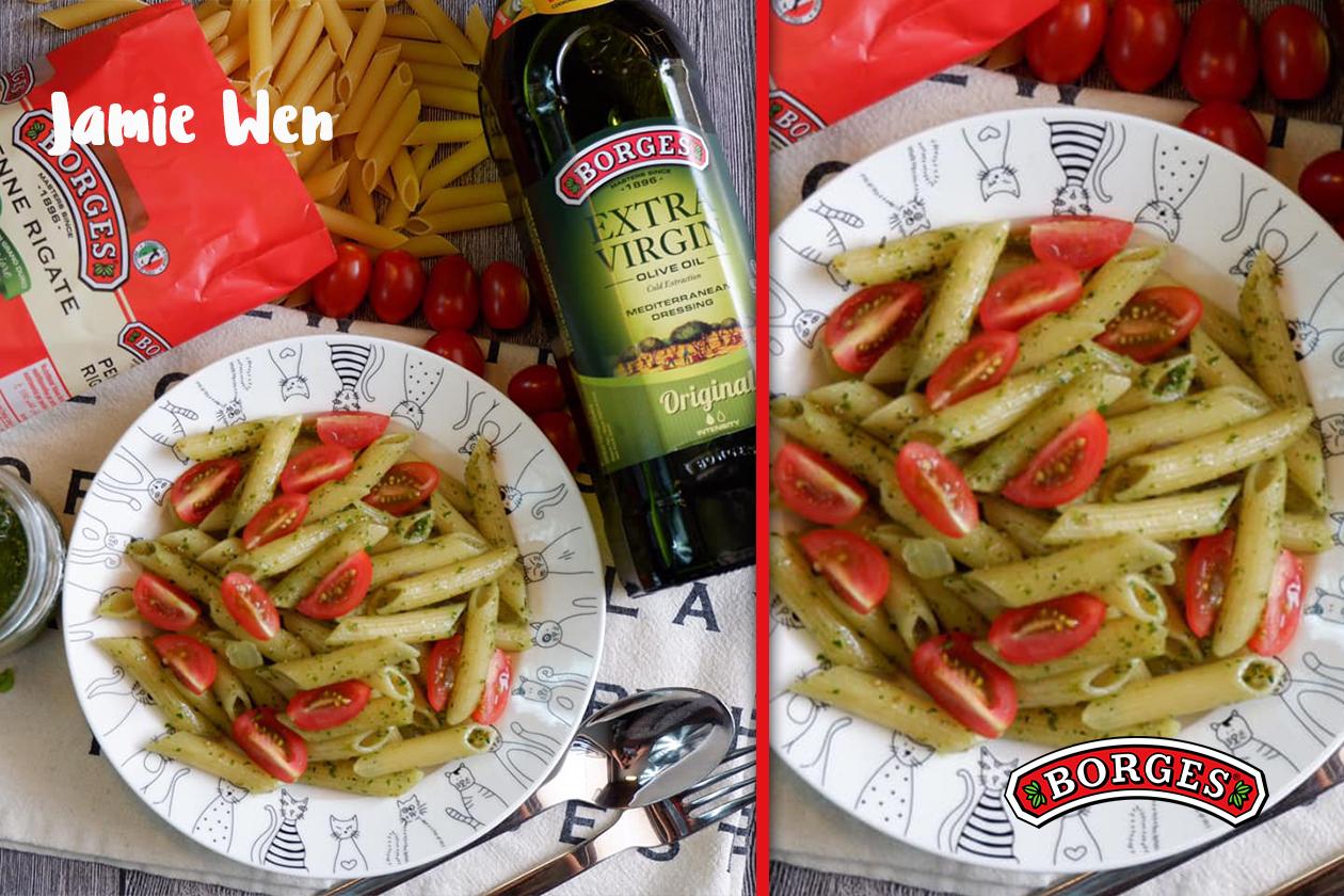 Super Easy Pesto Pasta
