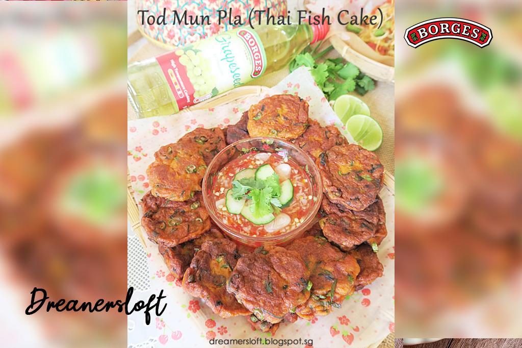 Tod Mun Pla (Thai-style Fish Cake)