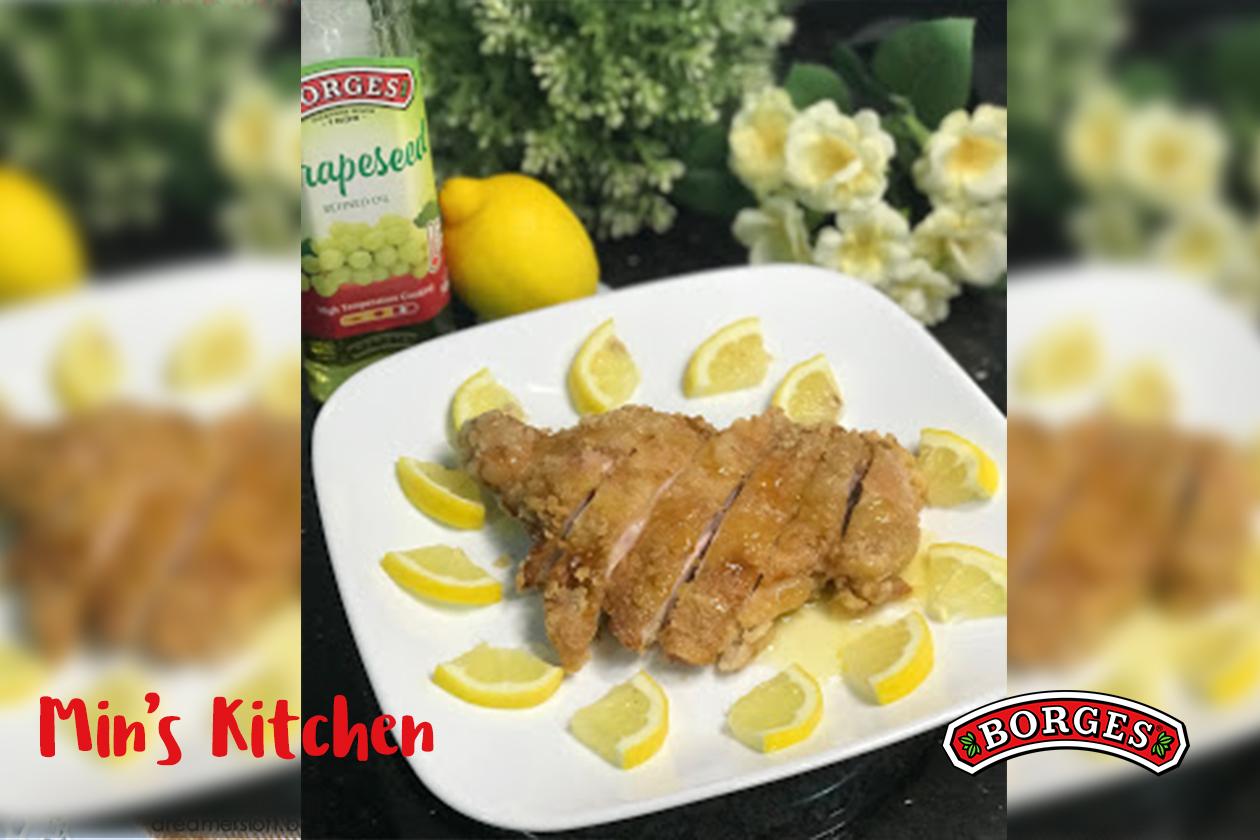 Crispy Chicken In Lemon Sauce